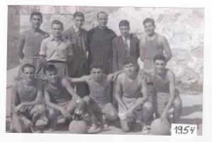 FOTO 1.- CB DENIA 1954