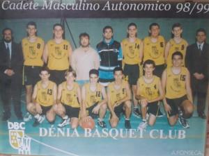 FOTO 8.- CADETE MASCULINO AUTONOMICO